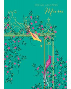 The Art File Sara Miller London Card Mother's Day Card For My Amazing Mum