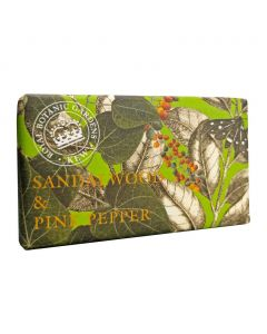 The English Soap Company Kew Gardens Sandalwood and Pink Pepper Soap Bar