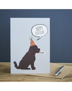 Sweet William Birthday Card Cockapoo