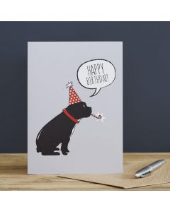 Sweet William Birthday Card French Bulldog