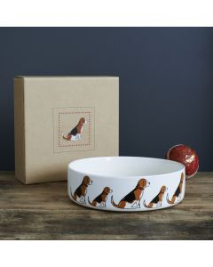 Sweet William Dog Bowl Beagle