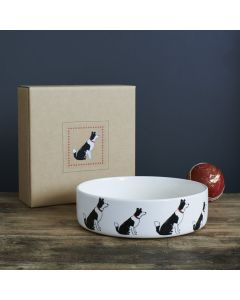 Sweet William Dog Bowl Border Collie