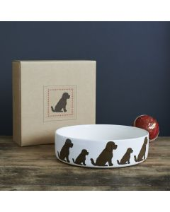 Sweet William Dog Bowl Cockapoo