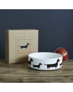 Sweet William Dog Bowl Dachshund