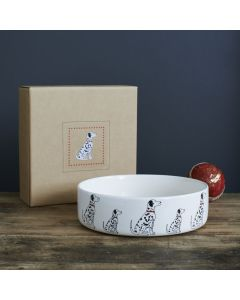 Sweet William Dog Bowl Dalmatian