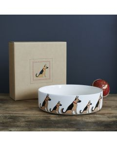 Sweet William Dog Bowl German Shepherd