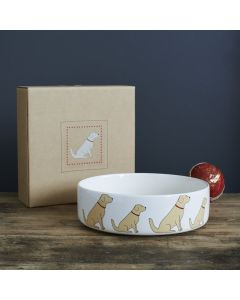 Sweet William Dog Bowl Golden Retriever
