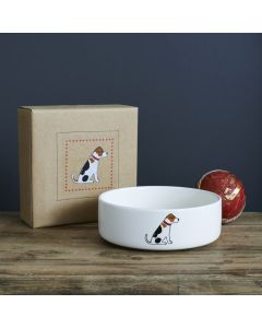 Sweet William Dog Bowl Jack Russell