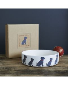 Sweet William Dog Bowl Staffie