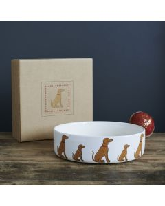 Sweet William Dog Bowl Vizsla