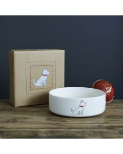 Sweet William Dog Bowl Westie