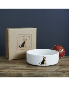 Sweet William Dog Bowl Yorkshire Terrier