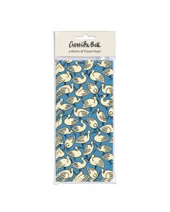 Museums and Galleries Cressida Bell Ibis (Blue) Tissue Paper
