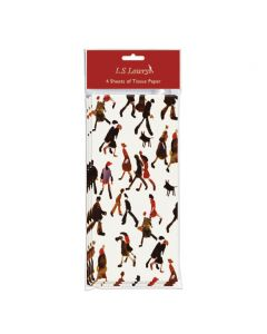 Museums and Galleries LS Lowry Going to Work Tissue Paper