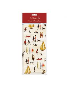 Museums and Galleries Tissue Paper LS Lowry Yachts