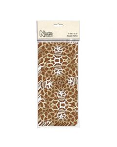 Museums and Galleries Natural History Museum Tissue Paper Giraffe Print