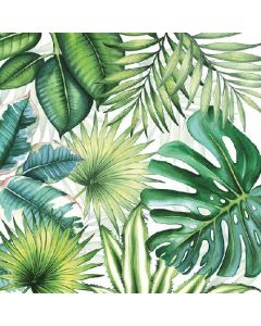 Ambiente Paper Napkins 3-ply Lunch Tropical Leaves