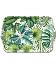 Ambiente Melamine Scatter Tray Tropical Leaves