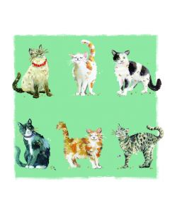Ling Designs Notecards Feline Friends and Canine Capers