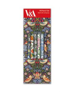 Museums and Galleries Pencil Box William Morris Set