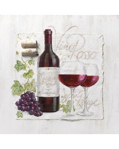 Ambiente Paper Napkins 3-ply Lunch Wine And Grapes
