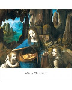 Portfolio, National Gallery Christmas Card  The Virgin of The Rocks (Leornado da Vinci