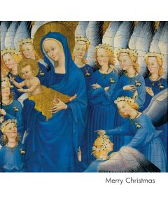Portfolio, National Gallery Christmas Card  The Wilton Diptych Angels