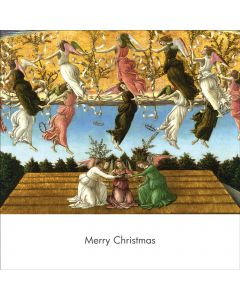 Portfolio, National Gallery Christmas Card  Mystic Nativity (Sandro Botticelli)