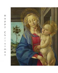 Portfolio, National Gallery Christmas Card  The Virgin and Child with a Pomegranate