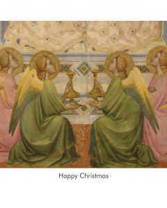 Portfolio, National Gallery Christmas Card  The Coronation of The Virgin, Agnolo Gaddi