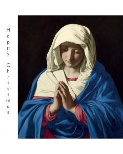 Portfolio, National Gallery Christmas Card  Madonna (Virgin) in Prayer