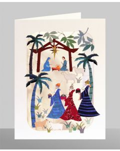 Adoration of the Magi  - XP53 - Laser Cut Christmas Card