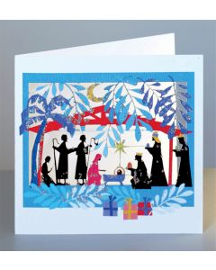 Forever Cards Adoration of the Magi Christmas Card
